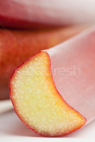 Ravent kesmek organik görmek meyve Stok fotoğraf © ShawnHempel
