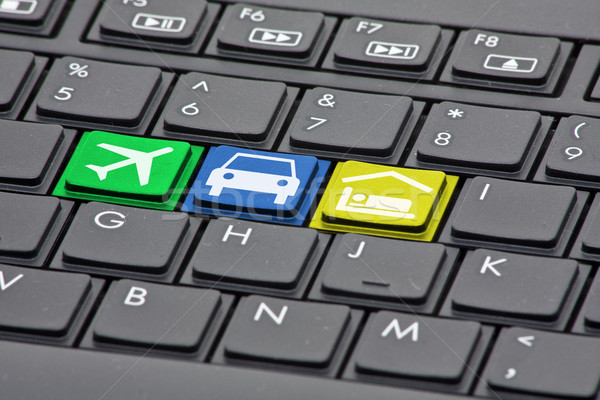 Online booking concept Stock photo © ShawnHempel