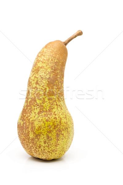 Single whole, uncut 'abate fetel' pear Stock photo © ShawnHempel