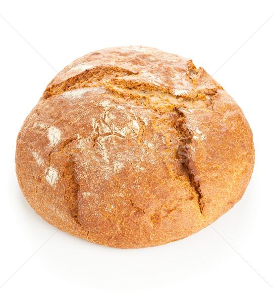 Pan pan blanco todo frescos fondo Foto stock © ShawnHempel