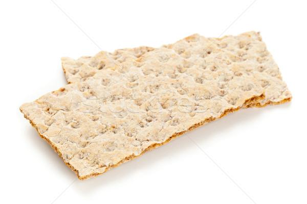 Wheat crispbread slices Stock photo © ShawnHempel