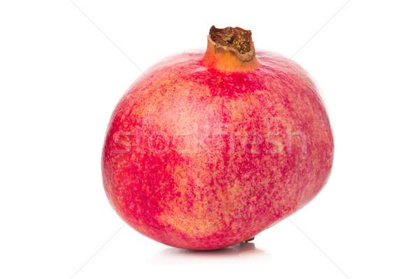 Whole, uncut pomegranate Stock photo © ShawnHempel