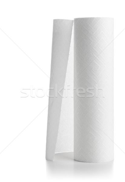 Paper towel roll Stock photo © ShawnHempel