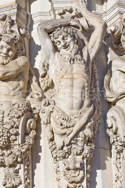 Sculpture in Dresden Stock photo © ShawnHempel