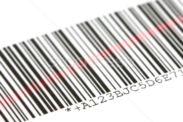 штрих-кода цифровой лазерного белый бизнеса компьютер Сток-фото © ShawnHempel