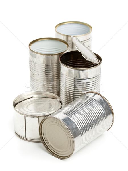 Used aluminum cans Stock photo © ShawnHempel