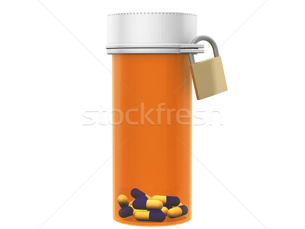 Pill bottle Stock photo © ShawnHempel