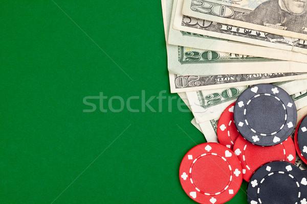 наличных покер фишки казино таблице спорт Сток-фото © ShawnHempel
