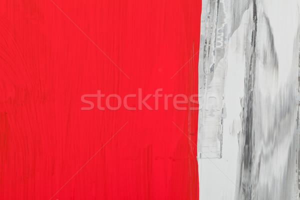 Szeretet árnyék absztrakt piros szürke festmény Stock fotó © ShawnHempel