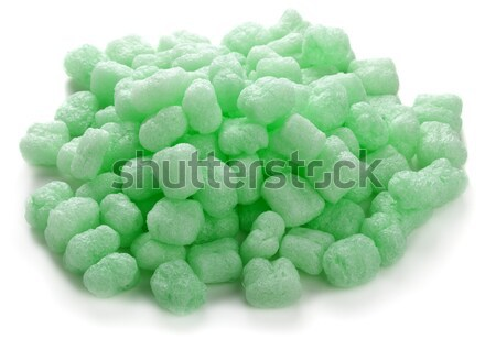 Stock photo: Corn starch packaging material
