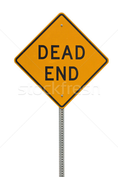 Dead end sign Stock photo © ShawnHempel