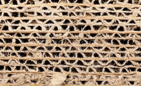 Corrugated recycled carton Stock photo © ShawnHempel
