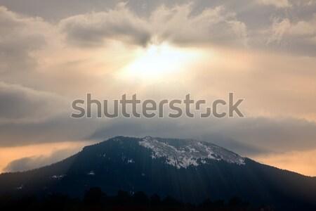 God rays Stock photo © ShawnHempel