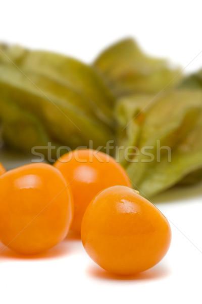Zdjęcia stock: świeże · organiczny · owoców · zielone · owoce · tropikalnych