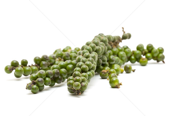 Yeşil taze gıda bitki sıcak biber Stok fotoğraf © ShawnHempel