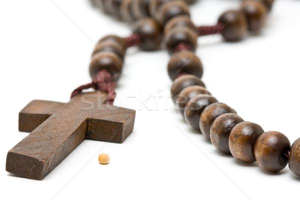 マスタード シード シンボル 信仰 ロザリオ 背景 ストックフォト © ShawnHempel