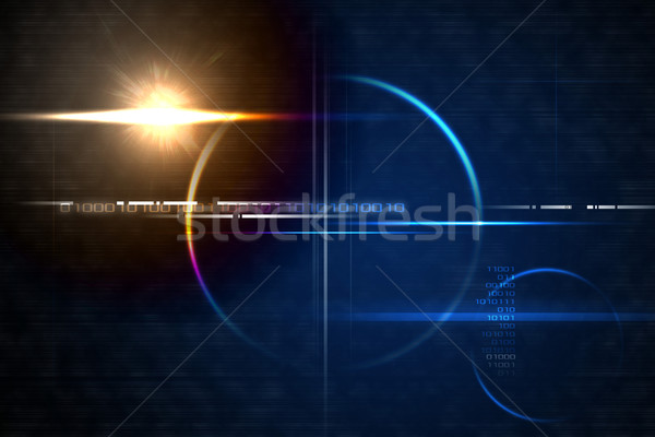 Technology lensflare backdrop Stock photo © ShawnHempel