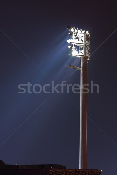 Floodlight at stadium Stock photo © ShawnHempel