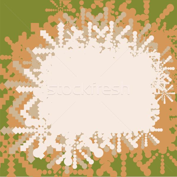 Natal floco de neve azul flocos de neve abstrato estrelas Foto stock © shekoru