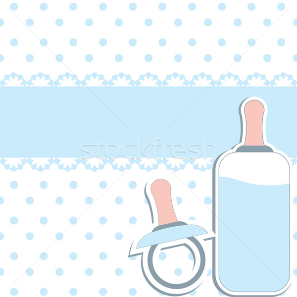 Baby design elements . Vector Illustration Stock photo © shekoru