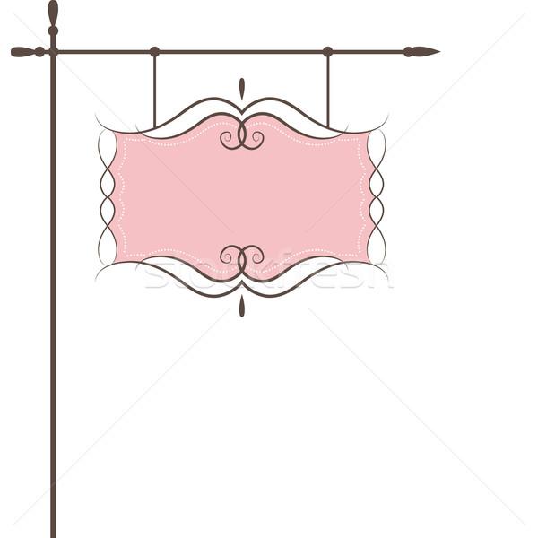 Restaurant vector sign . Vector illustration Stock photo © shekoru