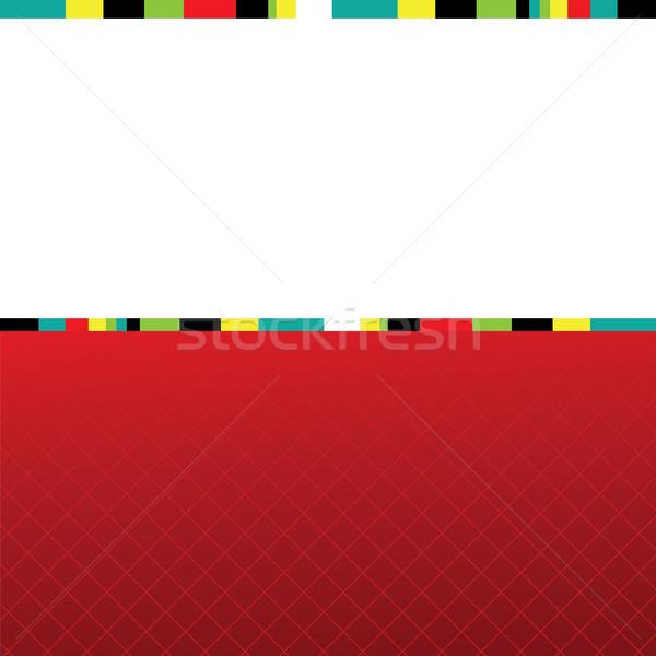 Abstrato natal colorido vermelho projeto neve Foto stock © shekoru