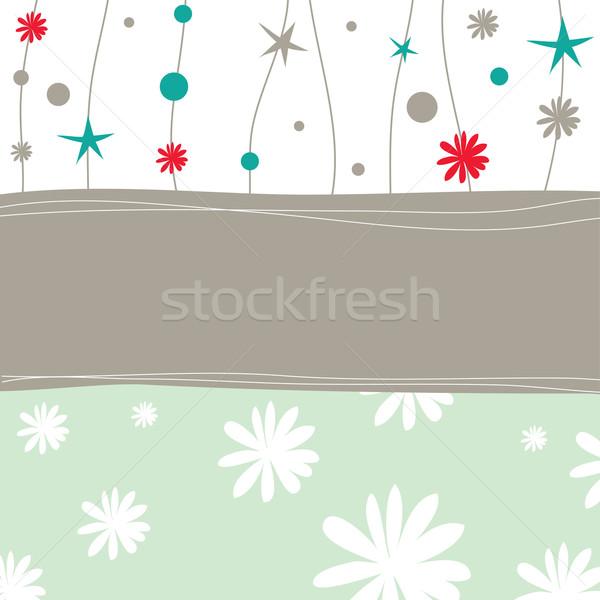 Noel renkli kart doku soyut Stok fotoğraf © shekoru
