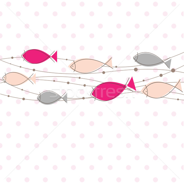 Modelo peixe cor textura internet criança Foto stock © shekoru