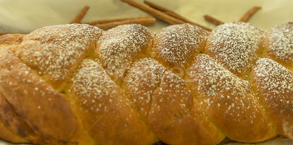 корицей хлеб свежие продовольствие Сток-фото © sherjaca