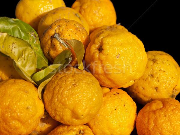 çalı limon taze gıda içmek Stok fotoğraf © sherjaca