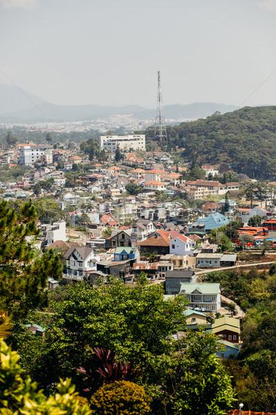Viêt-Nam maison ville nature paysage Photo stock © shevtsovy