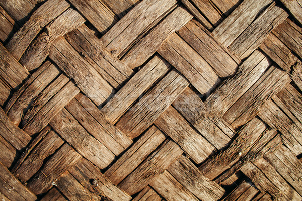 wood wickerwork texture Stock photo © shevtsovy