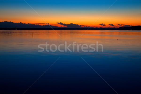 日没 龍 頭 のような 雲 自然 ストックフォト © shihina