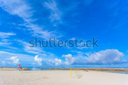 Beach Soccer Beach in Okinawa Stock photo © shihina