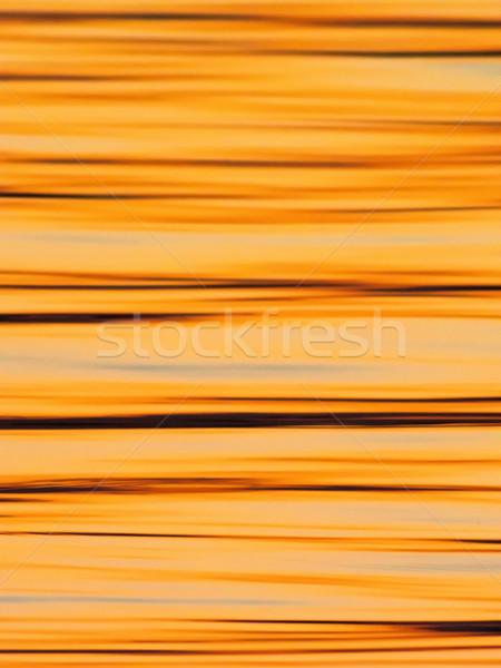 繊維 パターン 表面 日没 湖 水 ストックフォト © shihina