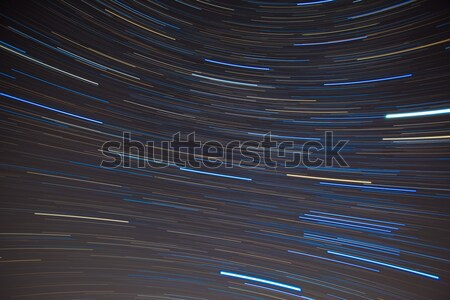Textile pattern of star trails in the Southern night sky Stock photo © shihina