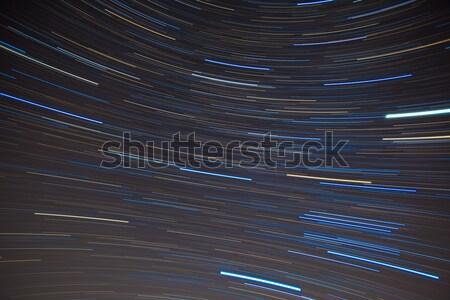 Włókienniczych wzór star południowy nieba niebo Zdjęcia stock © shihina