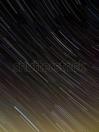 Textiles modèle star ciel de la nuit ciel résumé Photo stock © shihina