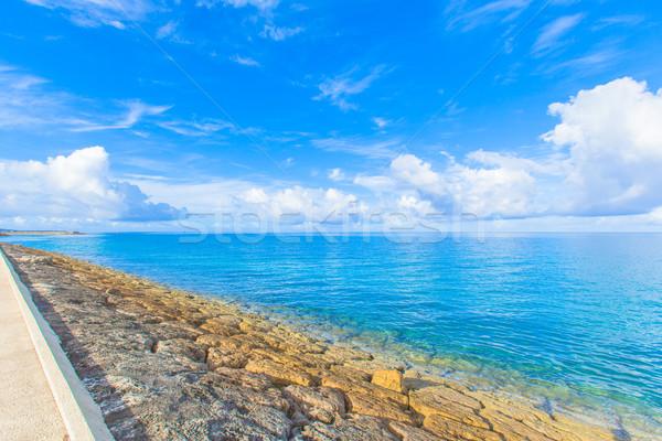 海 空 水 雲 太陽 美 ストックフォト © shihina
