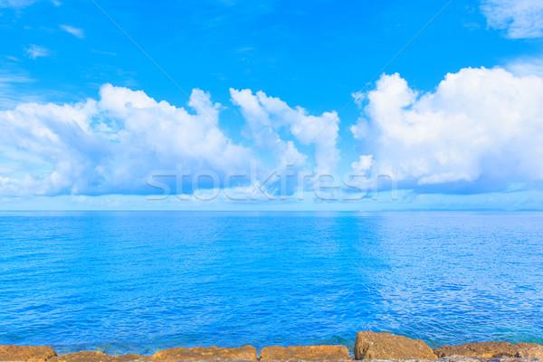 雲 青 海 空 水 抽象的な ストックフォト © shihina