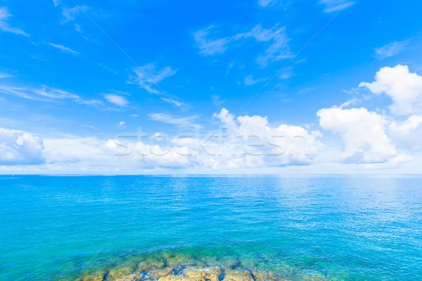 ストックフォト: 海 · エメラルド · 緑 · 水 · テクスチャ · 夏