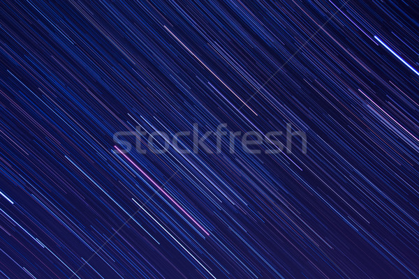 Abstract background with Orion star trails in the night sky Stock photo © shihina