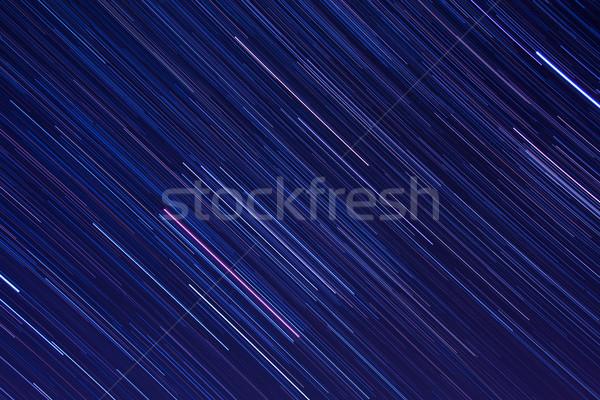 抽象的な 星 夜空 空 美 星 ストックフォト © shihina