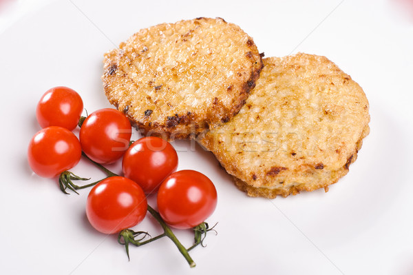 Stock photo: Two cutlets