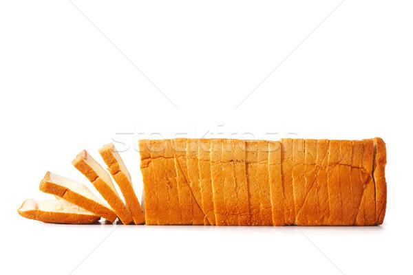 Brood witbrood voedsel mais toast Stockfoto © shyshka