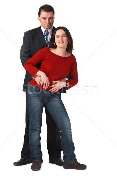 Portrait séduisant blanche couple Photo stock © shyshka