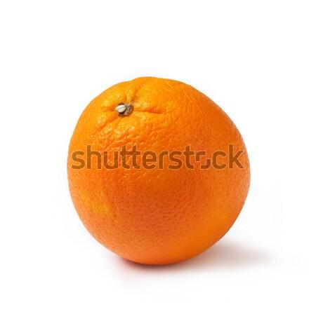 Friss narancs fehér akta vágási körvonal magas Stock fotó © shyshka