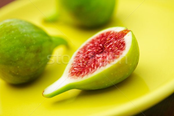 Fresh Green Figs Stock photo © shyshka
