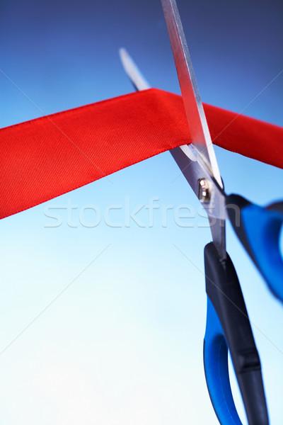 Image ciseaux couleur Photo stock © shyshka