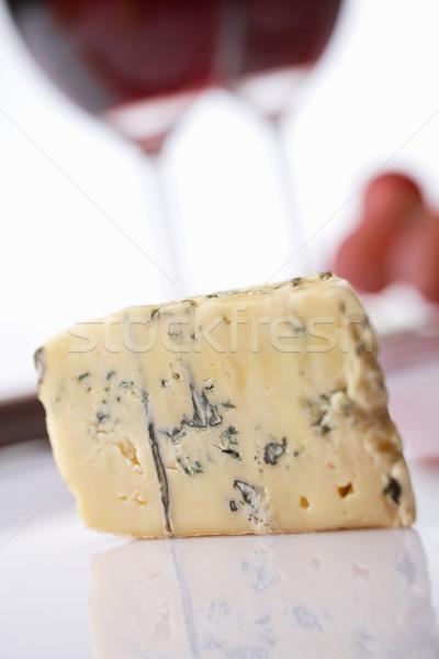 Sajt bor rokfort puha kék francia Stock fotó © shyshka